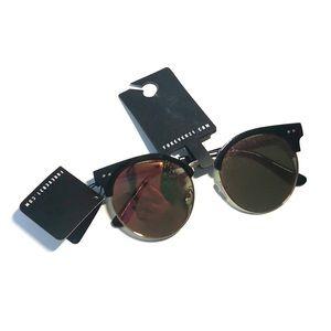 Forever 21 amber sunglasses